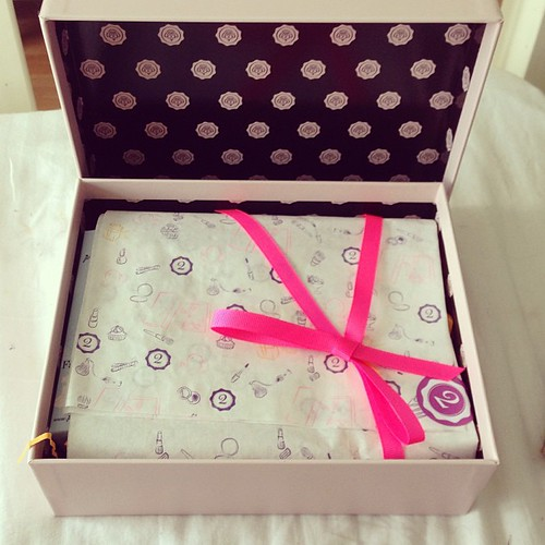 #glossybox  Glossy Box tests et avis sur la box