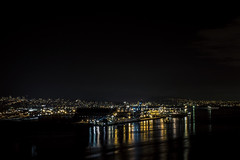 View from the Bridge (insomniac199) Tags: nightphotography bridge vancouver gate long britishcolumbia lions exposures