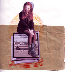 21 (PoppyLunaCarter) Tags: music girl collage female youth photos drawing cd young stack teen pile teenager doodles experimentation experimenting illustrating