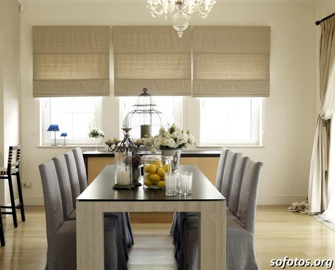 Salas de jantar decoradas (101)