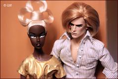 Mag & Flower (astramaore) Tags: black male love fashion toy golden model glamour doll raw it romance greeneyes relationship lukas blonde z chic cheekbones lovestory affair royalty monsieur relations appeal flaunt goldenhair fulllips loveaffair fashionroyalty