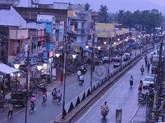 a simple look on Bhanjanagar (The Bhanjanagar) Tags: road camera city india beautiful digital vintage asian photography evening nikon flickr great scene clear explore 180 busy stunning coolpix 500views roads oriental pixels orissa amature p510 flickraward bhanjanagar
