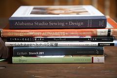 Squam Art Workshops 2013 (miniature.rhino) Tags: saw embroidery books stitching squamlake squamartworkshops squam2013