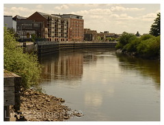 Low River Trent, Gainsborough (LincsRanger64) Tags: old history lincolnshire historical gainsborough rivertrent dn21