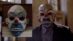 Dark knight Joker Bozo Mask (Dean Hartmann) Tags: dark mask bank heath batman joker knight robbery bozo tdk ledger heist