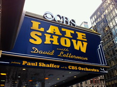 CBS Late Show (travelontheside) Tags: nyc newyorkcity ny newyork manhattan broadway lateshow letterman cbs davidletterman lateshowwithdavidletterman iphone edsullivantheater