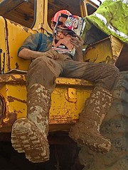 thermo (Hotfarmguy) Tags: gay hot sexy men boot mud boots thermo dirty worker horny farmer workgear dunlop overall mudding