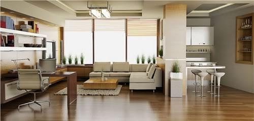 Fotos de apartamentos decorados for Departamentos pequenos minimalistas