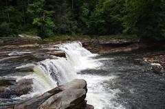 High Falls of Cheat River (durand clark) Tags: train waterfall wv appalachia cheatriver elkinswv monongahelanationalforest pentaxk5 cheatriversalamander cheatriverfallswv