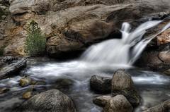 Alluvial Falls (Pragmatic1111) Tags: tree nature water rock river waterfall nationalpark nikon colorado stream falls rockymountains rmnp wilderness hdr rockymtn alluvial alluvialfalls d700 mygearandme mygearandmepremium