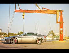 """A Bday Gift for Dad"" (Emilio Ciccarelli | www.TWOLITREmedia.com) Tags: car marina photography automotive british v8 astonmartin vantage handbuilt twolitremedia"
