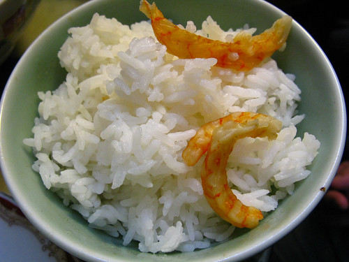 chinese dried shrimp steamed rice recipe