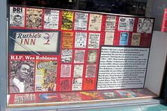 Berkeley - Rasputin Music: East Bay Punk - Ruthie's Inn (wallyg) Tags: california berkeley sanfranciscobayarea bayarea recordstore windowdisplay alamedacounty rasputinmusic ruthiesinn wesrobinson eastbaypunk