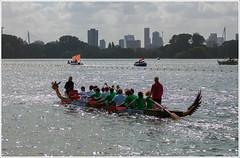 1st Dragon Boat festival in Rotterdam (1) (John Riper) Tags: city holland water festival skyline race canon john fun boat rotterdam dragon 70200 f4 abnamro drakenboot kralingen johnr kralingseplas 50d havenziekenhuis riper karlingsebos