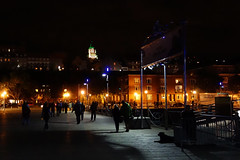 Québec City - leaving after the Bunge show 1