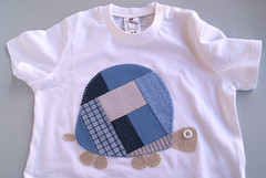 tortuga (unatardadepluja) Tags: baby tshirt patchwork camiseta samarreta