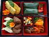 Lunch (Hopkinsii) Tags: bali chicken indonesia crepes tempeh bedugul nasiuduk balibotanicalgardens coconutrice 2013 candikuning beefrendang kebunrayaekakarya