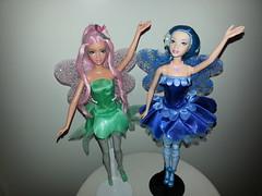 Dahlia & Azura (Trickles) Tags: dahlia barbie azura fairytopia
