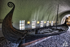 Oseberg Stern (Jens Lambert Photography) Tags: wood history oslo norway museum canon real photography photo ancient ship photographer estate huntsville postcard alabama carving m professional jens photograph commercial destination preserved lambert viking stern oseberg anitique