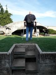 Gradini sonori (orsorama) Tags: italy grave italia tomb steps tomba brion treviso brionvega veneto gradini scalini altivole arcosolio