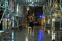 Le passage.... (De l'autre ct du mirOir...) Tags: street france water french nikon couleurs streetphotography pluie nikkor rue lorraine fr nuit 57 metz lepassage parapluie urbain yannick moselle 2013  d700 nikkor247028 deckard1953 vision:night=075