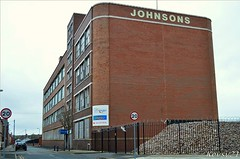 Former Johnsons The Cleaners  HQ Building (kev thomas21) Tags: uk england building liverpool derelict bootle merseyside
