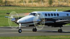 BEECH B200 KING AIR M-CDZT (BIKEPILOT, Thx for + 5,000,000 views) Tags: flying airport aircraft aviation aeroplane farnborough airfield aerodrome baesystems eglf beechb200superkingair mcdzt