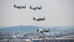 North American P-51 Mustangs over D.C. (The Braineack) Tags: dc washington north worldwarii american mustang arsenal flyover p51 northamericanp51mustangs capitolflyover arsenalofdemocracyworldwariivictorycapitolflyover