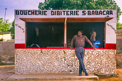 FQ9A6215 (gaujourfrancoise) Tags: africa portraits shops colored senegal coloré afrique boutiques traders nianing tradespeople commercants gaujour naïvepaintingspeinturesnaïves dibiteries