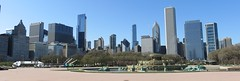 Chicago Loop, Grant Park, and Buckingham Fountain (Chicago, Illinois) (courthouselover) Tags: illinois il grantpark cookcounty chicago fountains downtowns chicagometropolitanarea chicagoland route66 northamerica unitedstates us