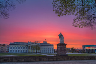 sunrise at fridericianum