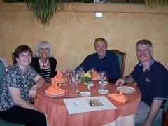 Linda, Marleen, Curt & David