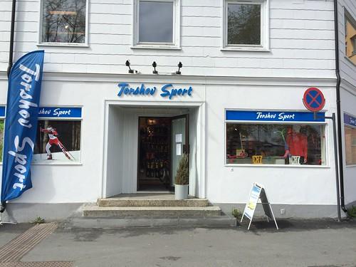 Fasadedekor og skilt for Torshov Sport Gjøvik