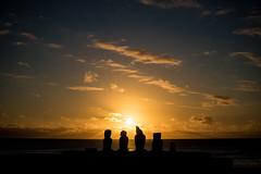 Ahu Tahai - Easter Island - Isla de Pascua (yerson.retamal) Tags: isla de pascua easter island hanga roa ahu tahai naturaleza vacaciones playa atardecer ocano pacifico moai