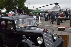 2016-09-17: Car & Chopper (psyxjaw) Tags: chatham dockyard forties event salutetotheforties kent 40s reenactment historic