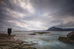Scurrying Around (Visible Landscape) Tags: scotland isleofskye skye elgol motion mountains