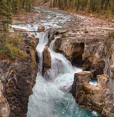 Sunwapta Falls - Jasper Park (John Payzant) Tags: hdr panorama banff park sunwapta falls alberta canada