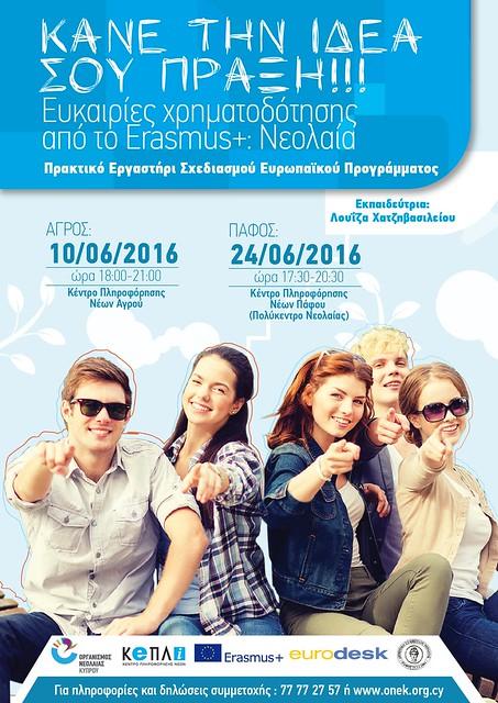 poster- Erasmus+Κάνε την ιδέα σου πράξη-2-01 (2)