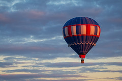 Rise and Shine (bprice0715) Tags: canon canon70d nature naturephotography adirondacks adirondackballoonfestival balloons hotairballoons colorful sunrise clouds sky colors