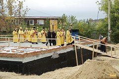 138. The Laying of the Foundation Stone of the Church of Saints Cyril and Methodius / Закладка храма святых Мефодия и Кирилла 09.10.2016