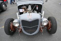 1936 Ford Hotrod pickup (bballchico) Tags: 1936 ford pickuptruck hotrod chopped sectioned lowered garycrawford ratbastardscarshow carshow 30s 206 washingtonstate