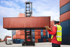 Shipping (Patrick Foto ;)) Tags: asia asian background boat box business cargo commerce commercial construction container containers control crane customs delivery dock dockyard economy engineer export forklift freight global goods harbor harbour import industrial industry loading logistic logistics port sea ship shipping stack stacking storage terminal trade transport transportation truck vessel warehouse worker workers yard laemchabang changwatchonburi thailand th