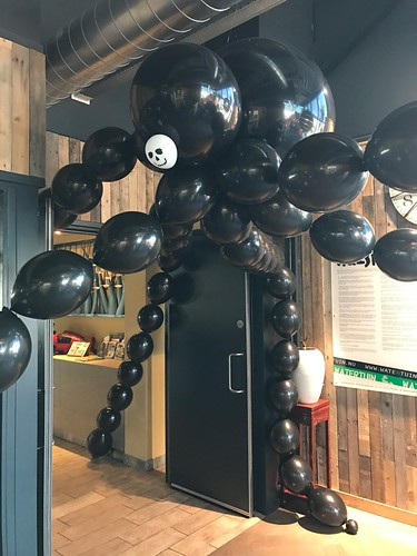 Spin van Ballonnen Halloween Watertuin Spijkenisse