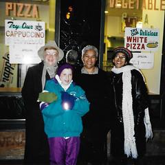 Nana, Lauren, Arva & Janine (edenpictures) Tags: lauren kathleen ninos stmarksplace pizza arva janine eastvillage newyorkcity visit trip nyc