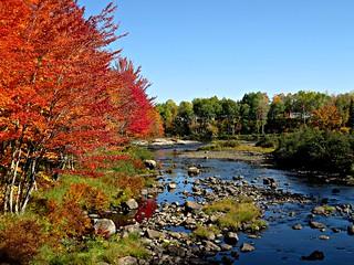 Pabineau River celebrates Fall