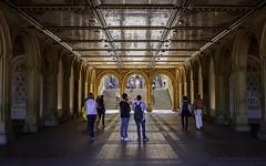 Bethesda Terrace - Central Park - NY (Christian Wilt) Tags: newyork us centralpark streetphotography