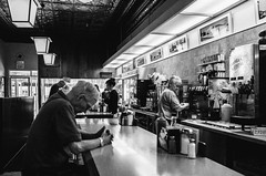 R0033825 (G. L. Brown) Tags: diner texashot waitress wellsville streetphotography restaurant