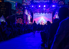 Lincoln Center Out of Doors at Night (UrbanphotoZ) Tags: thehallelujahtrain pastorbradyblade daniellanois lincolncenteroutofdoors night damroschpark spotlights audience lincolncenter upperwestside manhattan newyorkcity newyork nyc ny