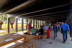 _DSC6735 (durr-architect) Tags: info centre zwin heartland belgium architecture cousse goris nature park wood structure border aday16 group area green trees