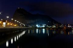 Gibraltar (angeldcr) Tags: gibraltar estrechodegibraltar algeciras lalinea bahiadealgeciras campodegibraltar noche